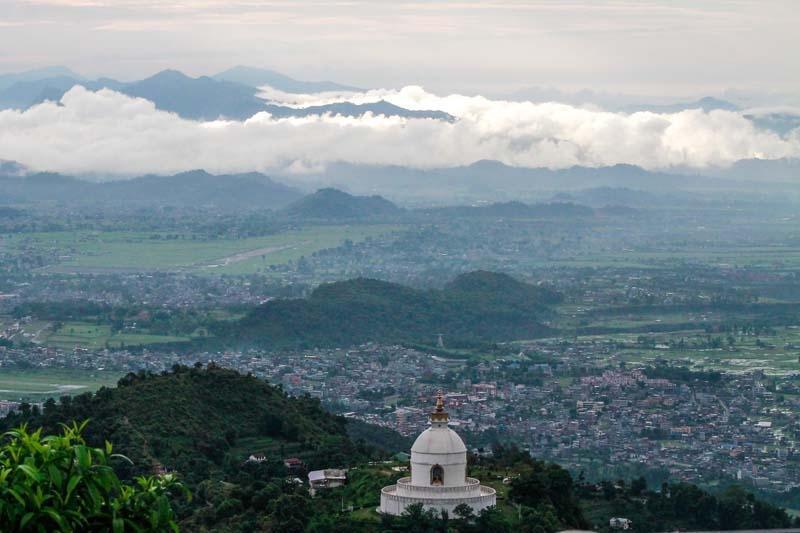 Stupa at Pokhara