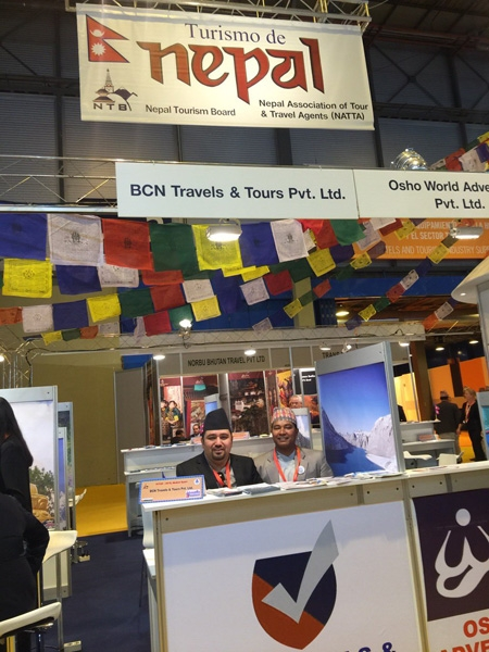 Participating in Fitur 2016 - Spain